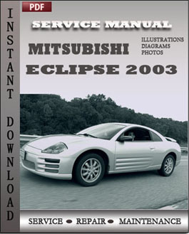 2000 mitsubishi eclipse repair manual pdf
