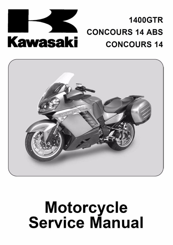 kawasaki concours service manual download