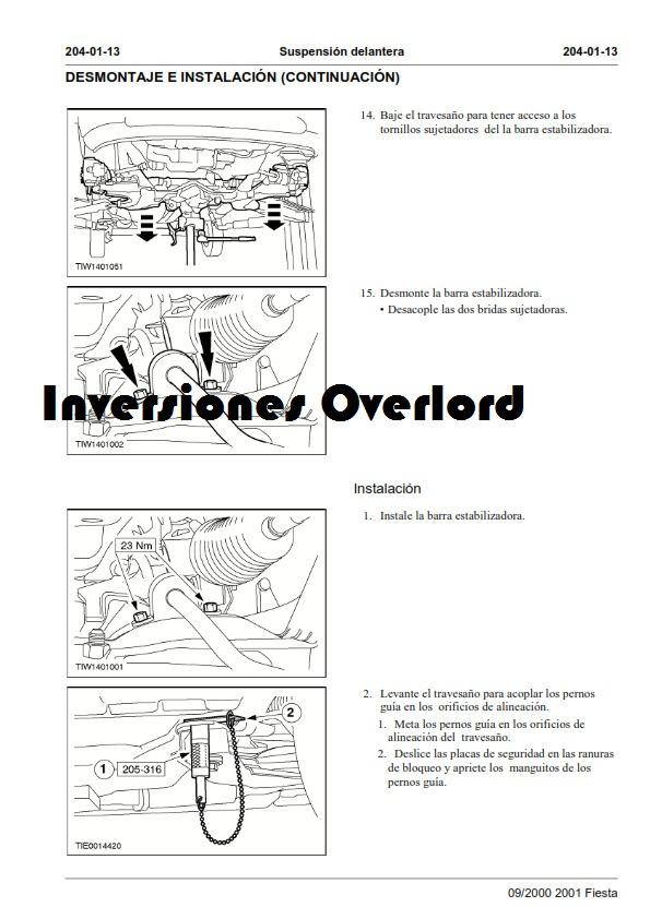 ford fiesta 1998 manual pdf