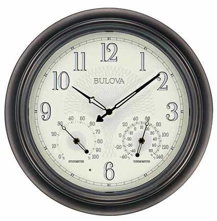 bulova outdoor illuminated clock model c4813 manual