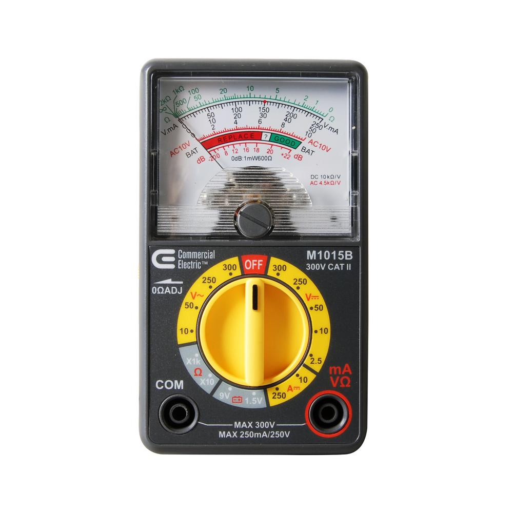 electro tek multimeter manual pdf