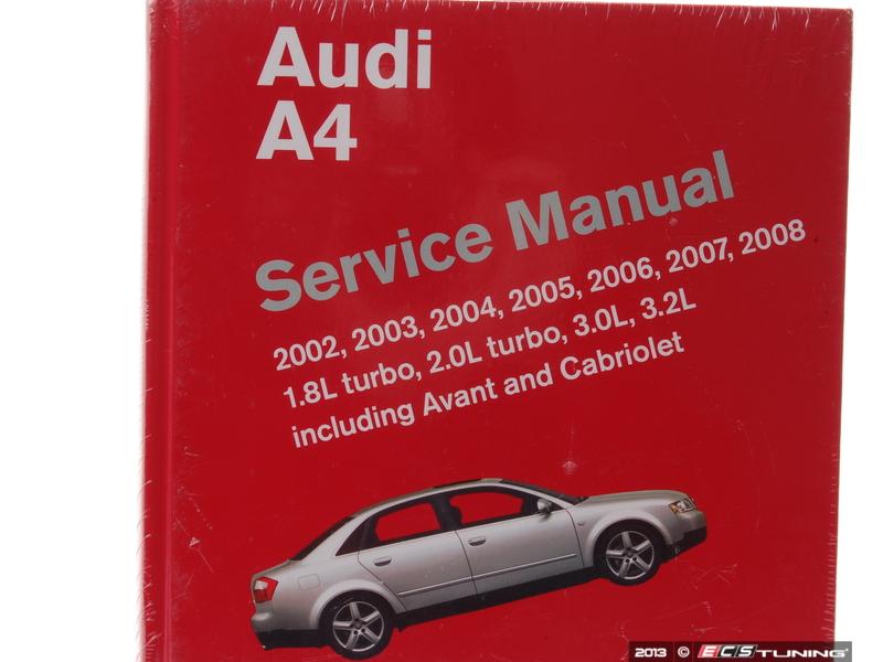 download audi b6 s4 bentley repair manual