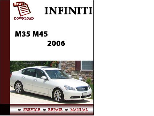 2006 infiniti m35 service manual download