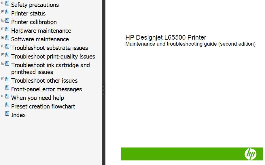 hp designjet t1120 sd mfp service manual