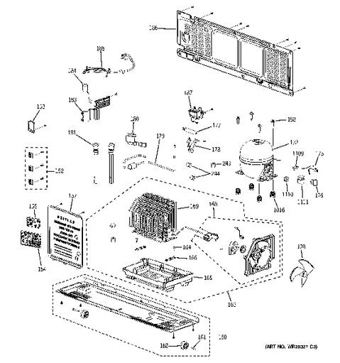 ge refrigerator model gfss6kkycss manual