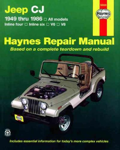 jeep liberty haynes repair manual download
