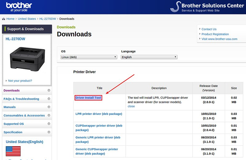 download default driver brother mfc-7340 printer manual install driver