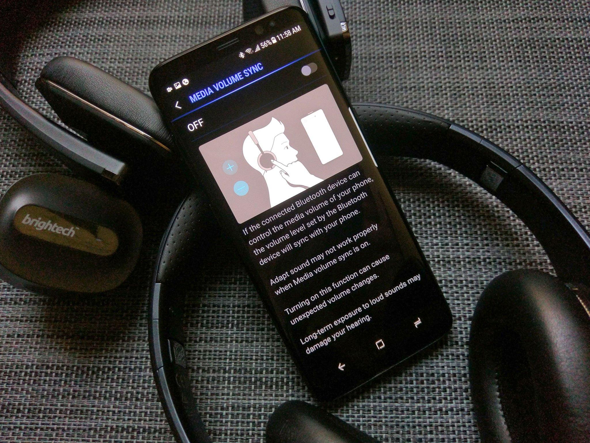samsung galaxy how to manually turn on headphones