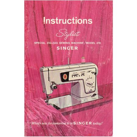 singer model 404 instruction manual