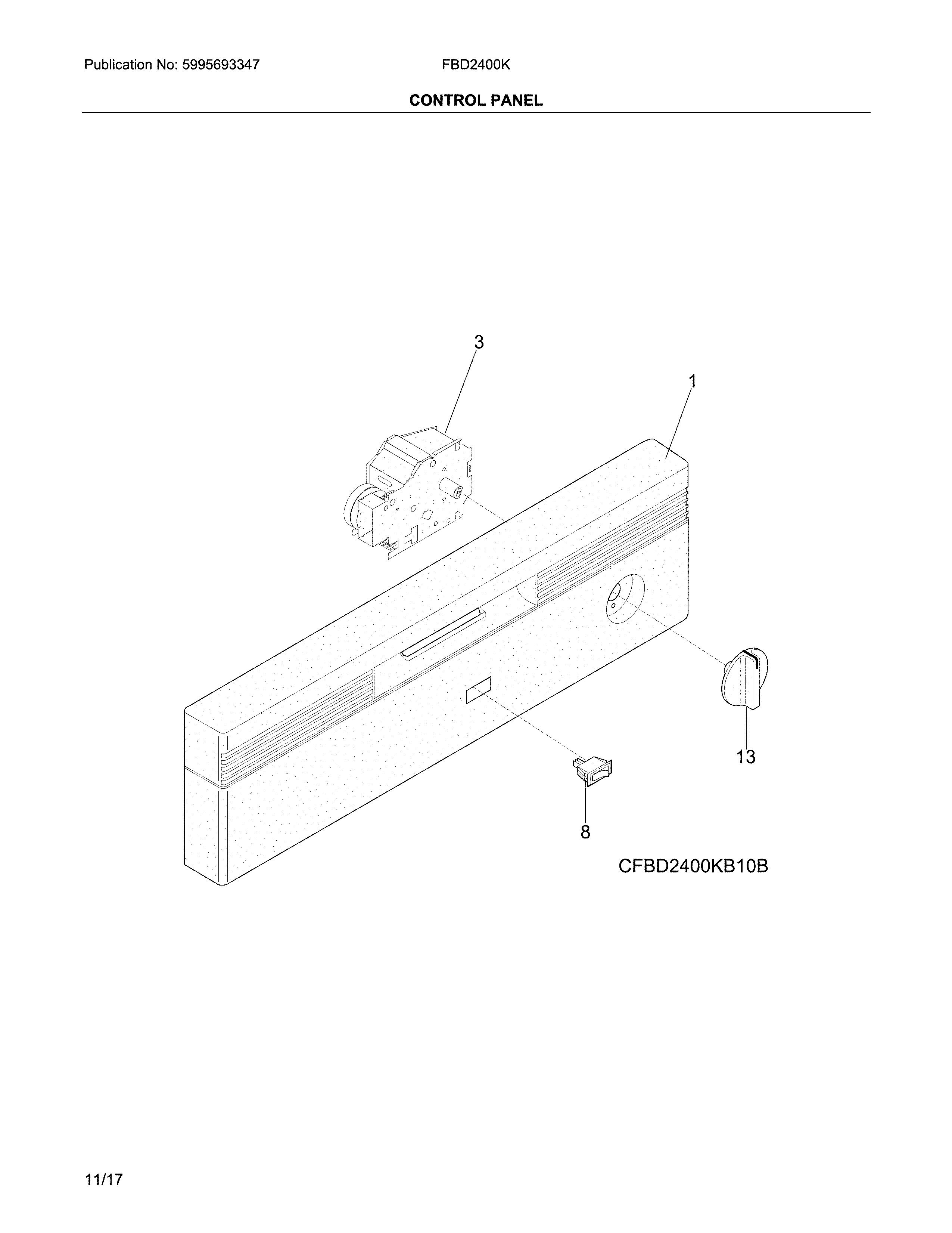 frigidaire dishwasher model fbd2400kw12b manual