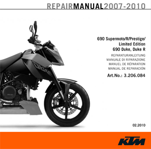 ktm 990 service manual download
