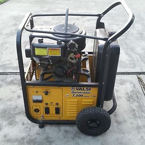 valsi vertical generator 7500 watts 13 hp manual