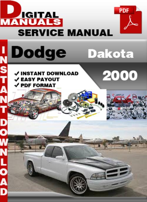 2000 dodge dakota service manual free download