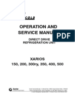 operation manual of carrier unit 50aj-030-c-611aa model