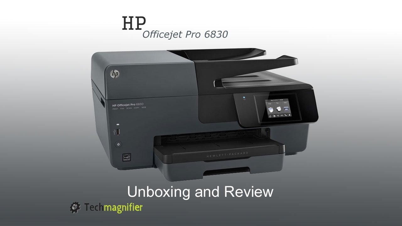 hp manual for the officejet pro 6830