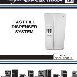 kitchenaid model 70 refrigerator service manual