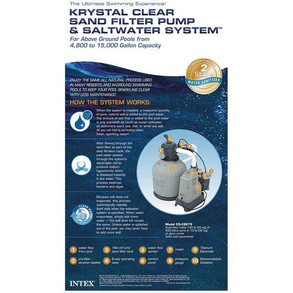 intex pool pump model number 633t manual