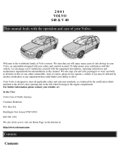 2001 volvo s40 repair manual pdf