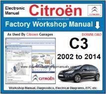 citroen c3 service manual download free