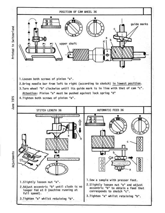 elna 3003 sewing machine manual digital download