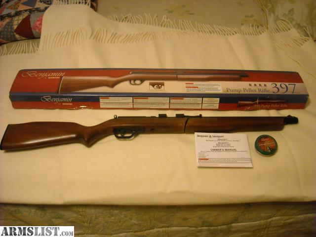 benjamin model g air rifle manual
