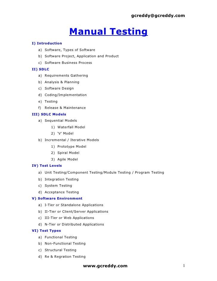 gc reddy manual testing pdf download