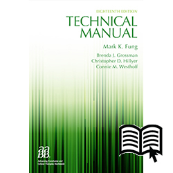 aabb technical manual 17th edition pdf free download