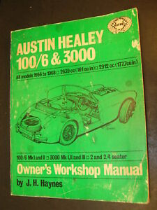 austin healey workshop manual download