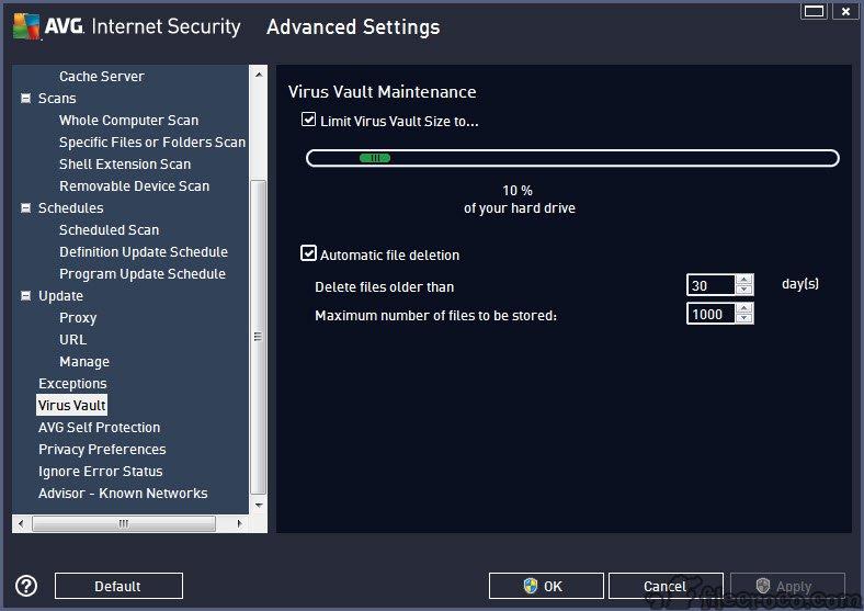 avg antivirus manual update file free download