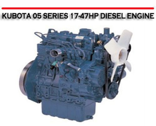 kubota 20 hp diesel engine manual