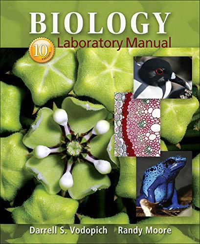 biology laboratory manual 10th edition vodopich pdf