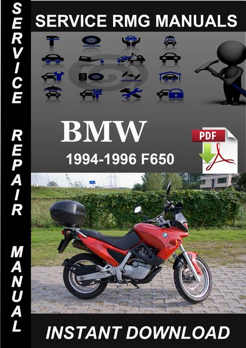 bmw f650 funduro repair manual pdf