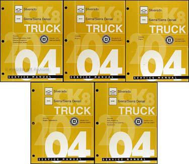 2004 chevy silverado manual download