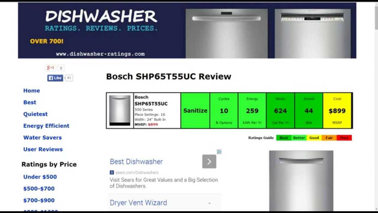 bosch dishwasher model shp65t55uc manual
