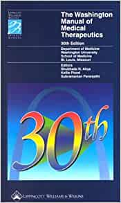 the washington manual of medical therapeutics pdf download