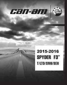can am spyder service manual free download