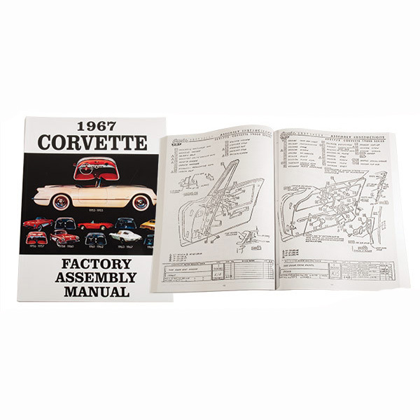 1969 corvette assembly manual download