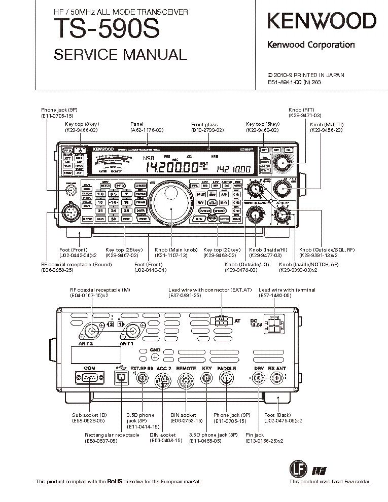 kenwood ts 590s manual download