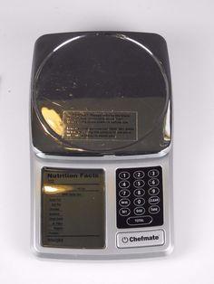 chefmate digital scale manual download