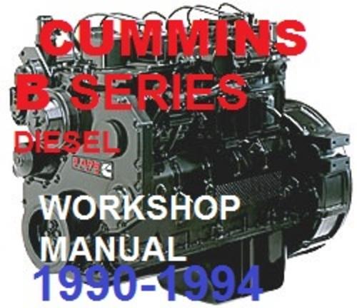 cummins workshop manual free download