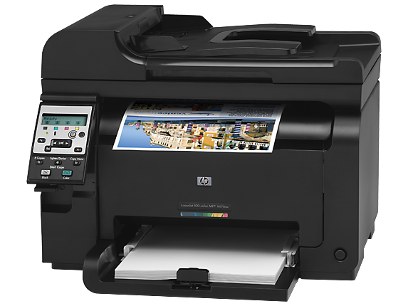 hp manual for color laserjet 100 m175nw