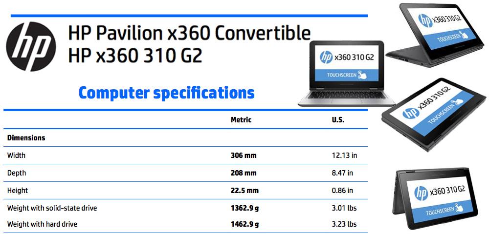 hp x360 11 ab011dx manual