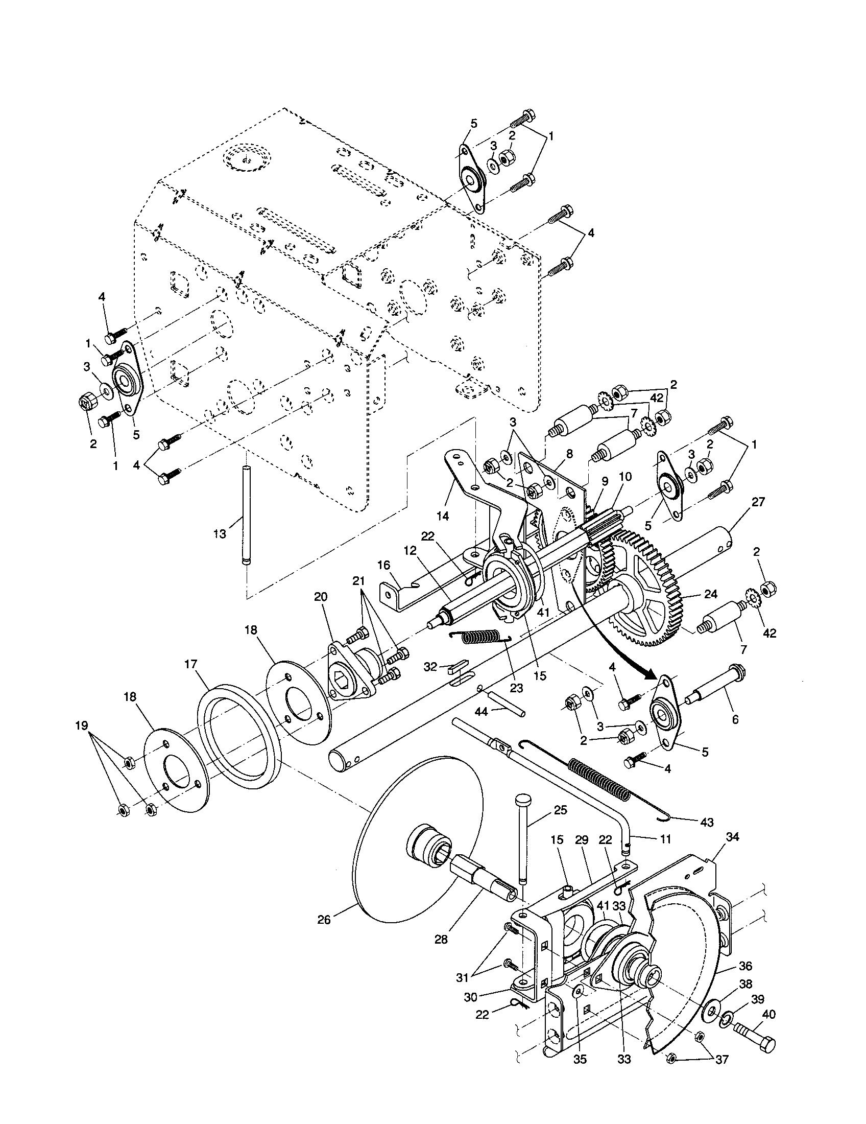 husqavarna snowblower manual model 10530sbe