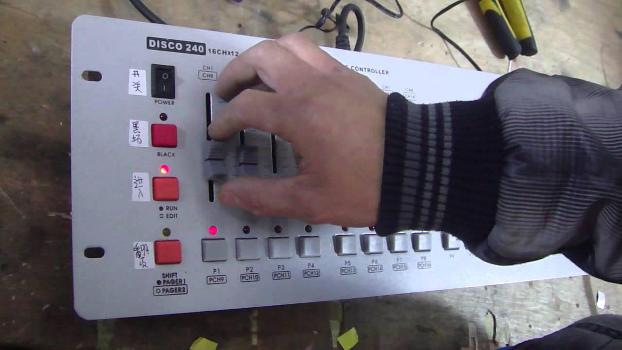disco 240 dmx controller manual pdf