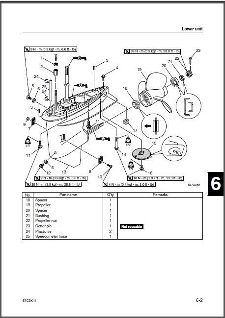 yamaha outboard 25hp 4 stroke service manual pdf download free