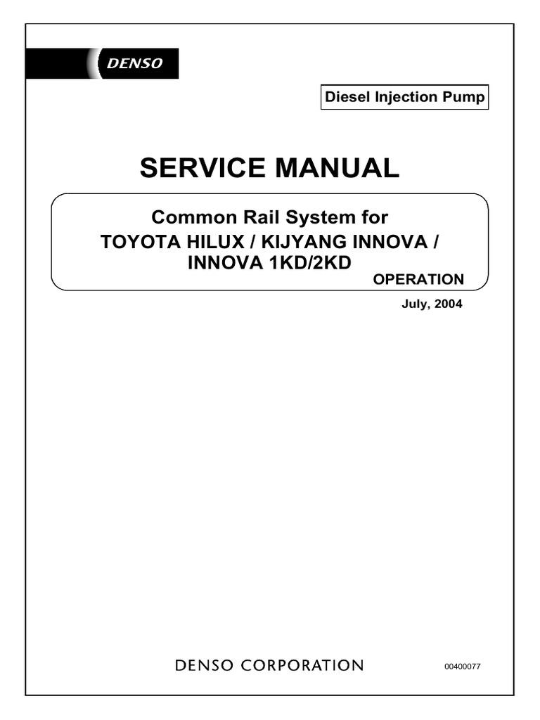 toyota innova service manual free download