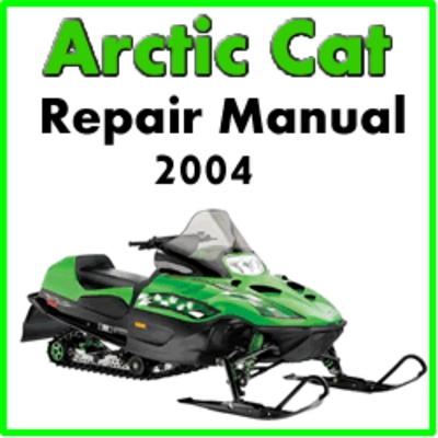 2004 arctic cat service manual free download