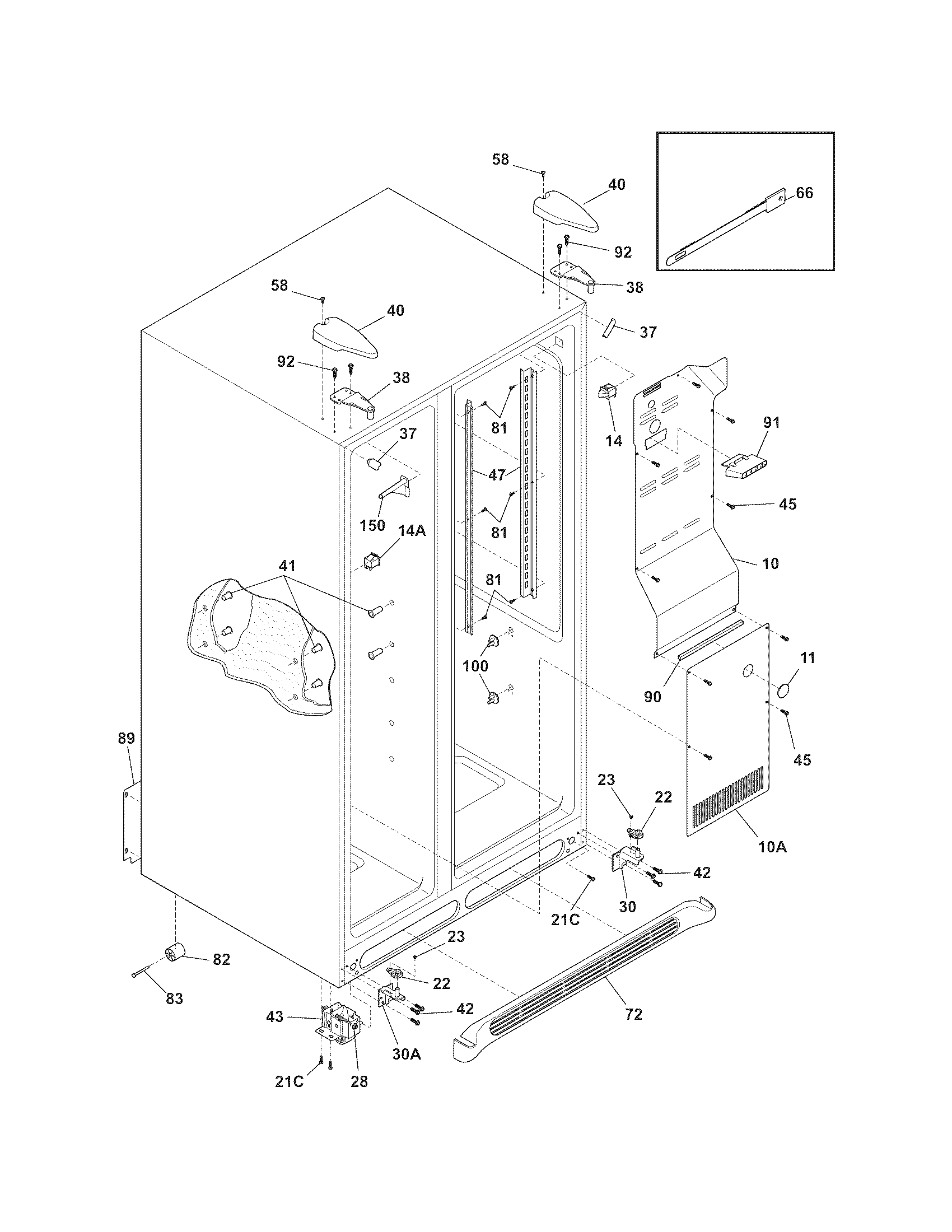 frigidaire model no ffth1022r2 manual