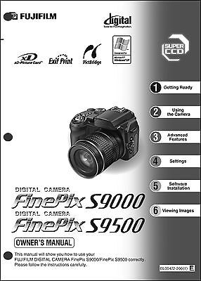 fujifilm finepix s9500 user manual download