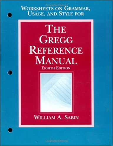gregg reference manual online pdf
